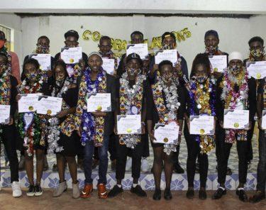 Kibagare Grads with certificates